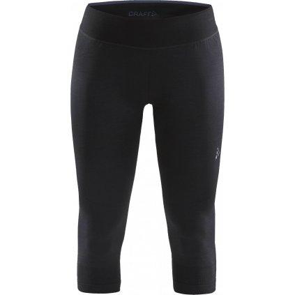 Dámské termo spodky CRAFT Fuseknit Comfort černá