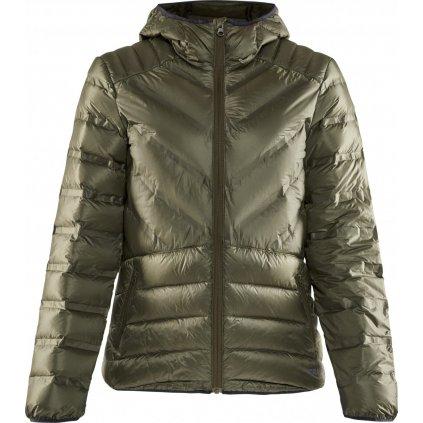 Dámská zimní bunda CRAFT Lightweight Down zelená
