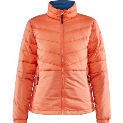 Dámská zimní bunda CRAFT Core Street Insulation oranžová