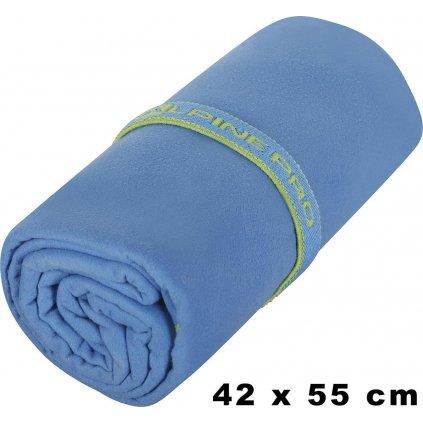 Rychleschnoucí ručník ALPINE PRO 42x55 modrá