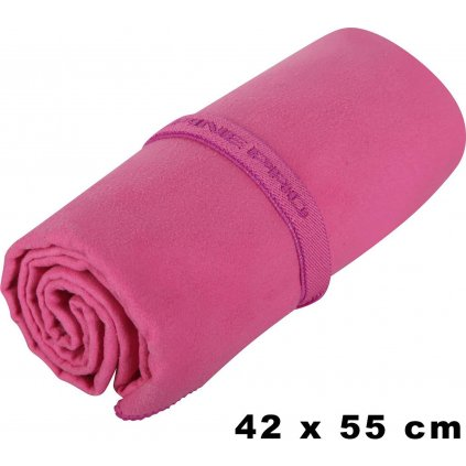 Rychleschnoucí ručník ALPINE PRO 42x55 růžová