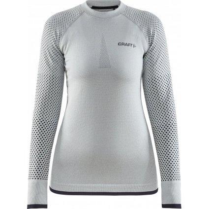 Dámské termo tričko CRAFT Adv Warm Fuseknit Intensity světle zelená