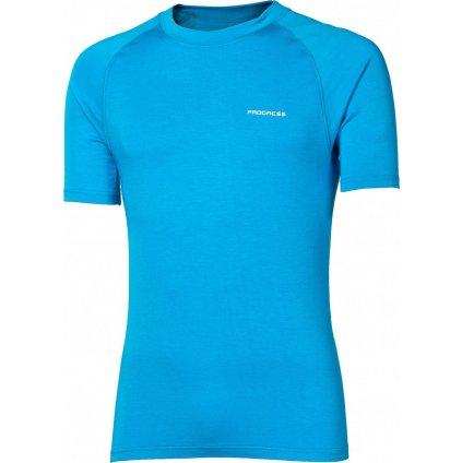 Pánské bambusové tričko PROGRESS E Nkr modrá