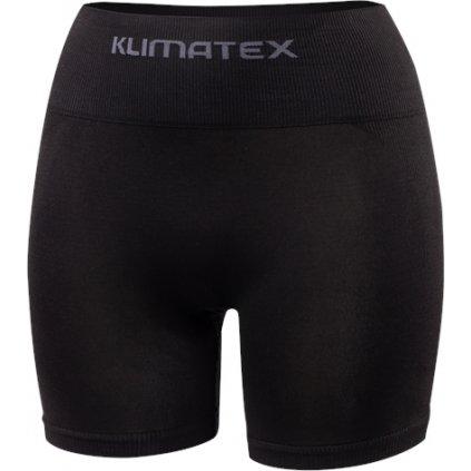 Dámské bezešvé boxerky KLIMATEX Bondy černá