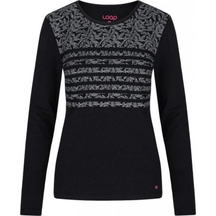 Dámské bavlněné triko LOAP Abika černá