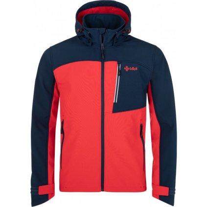Pánská softshellová bunda KILPI Ravio-m červená