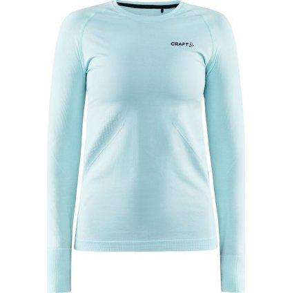 Dámské termo tričko CRAFT Core Dry Active Comfort Ls světle modrá