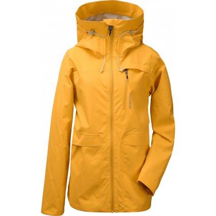 Dámská nezateplená bunda DIDRIKSONS Wida žlutá
