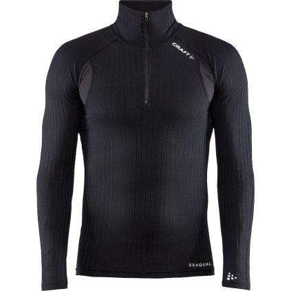 Pánské termo tričko CRAFT Active Extreme X Zip černá