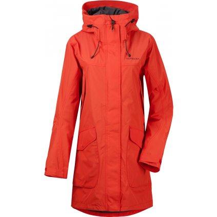 Dámský nepromokavý kabát DIDRIKSONS Thel červený