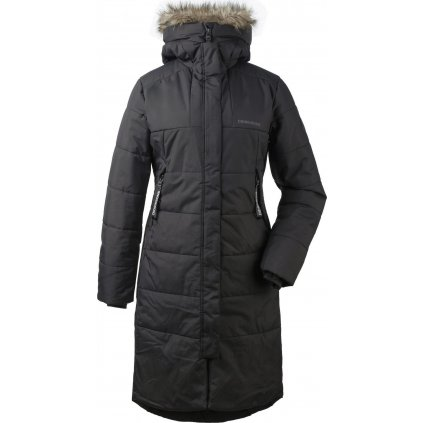 Dámský zateplený kabát DIDRIKSONS Valentina černý