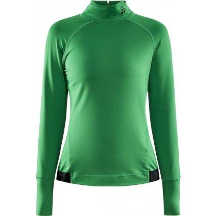 Dámské funkční tričko CRAFT Faun Ls zelená