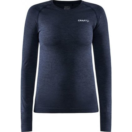 Dámské termo tričko CRAFT Core Dry Active Comfort Ls tmavě modrá