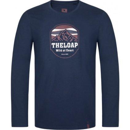 Pánské bavlněné triko LOAP Alco modrá