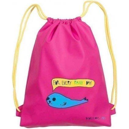 Dětská nepromokavá taška DIDRIKSONS Galon růžová