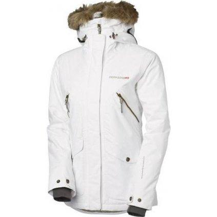 Dámská zimní bunda DIDRIKSONS Ronja bílá