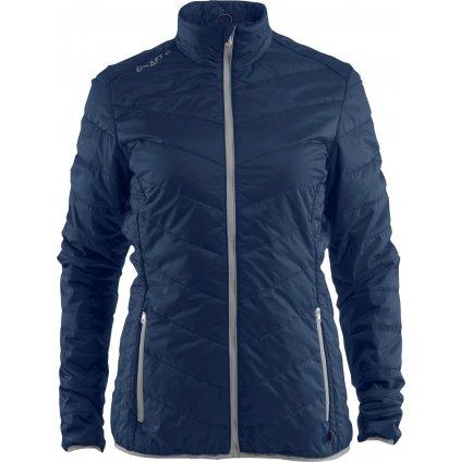 Dámská lehká zimní bunda CRAFT Light Primaloft tmavě modrá