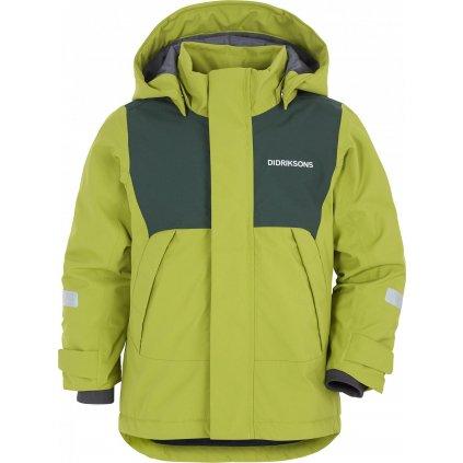 Dětská zimní bunda DIDRIKSONS Caspian zelená