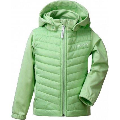 Dětská zateplená bunda DIDRIKSONS Briska zelená