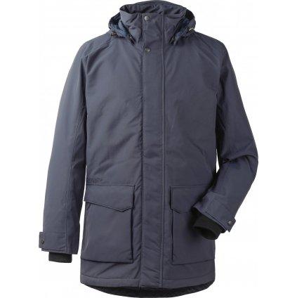 Pánský zateplený kabát DIDRIKSONS Rolf modrý