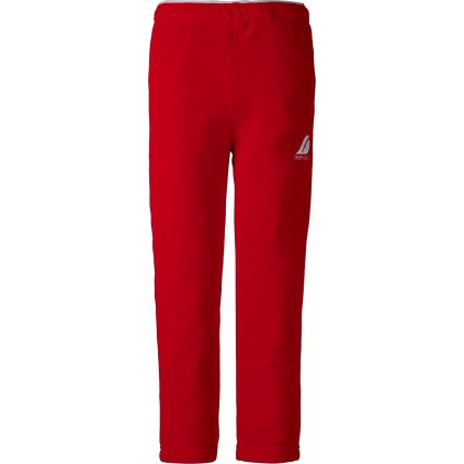 Dětské fleecové kalhoty DIDRIKSONS Monte červené
