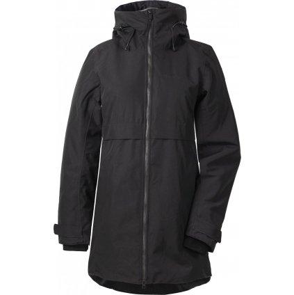 Dámský zateplený kabát DIDRIKSONS Helle černý