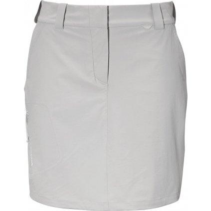 Dámská softshellová sukně DIDRIKSONS Liv bílá