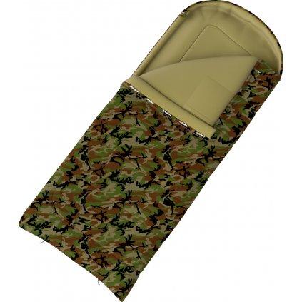 Spacák dekový HUSKY Gizmo Army -5°C khaki