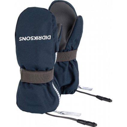 Dětské zateplené rukavice DIDRIKSONS Biggles zip modré