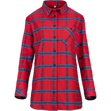 Dámská košile WOOX Caerphilly High Risk Red
