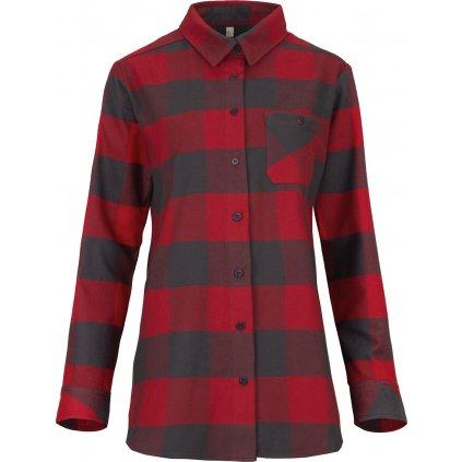 Dámská košile WOOX Anglesey Chili Pepper