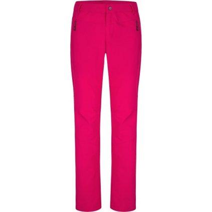 Dámské softshellové kalhoty LOAP Urecca růžové