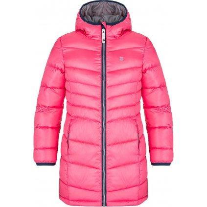 Dětský zimní kabát LOAP Ingritt růžový