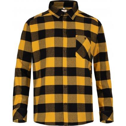 Pánská košile WOOX Cardiff Golden Rod