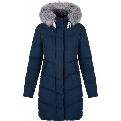 Dámský zimní kabát LOAP Nairobi modrý