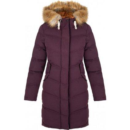 Dámský zimní kabát LOAP Nairobi fialový