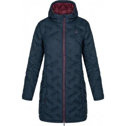 Dámský zimní kabát LOAP Itika modrý