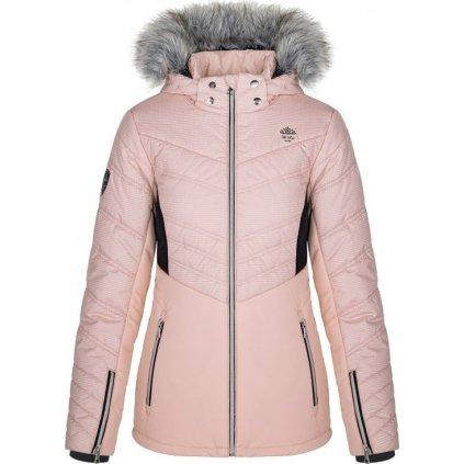 Dámská lyžařská bunda LOAP Okalca růžová