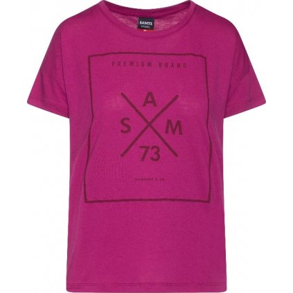 Dámské tričko SAM 73 Tanya fialové