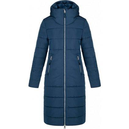 Dámský zimní kabát LOAP Takada modrý