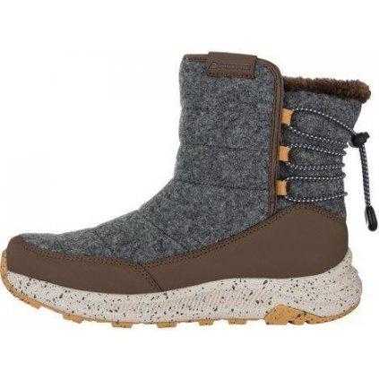 Dámské zimní boty ALPINE PRO Kemba šedé