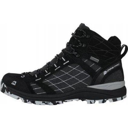 Unisex outdoorová obuv ALPINE PRO Balth  černá