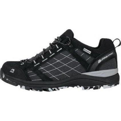 Unisex outdoorová obuv ALPINE PRO Israf černá