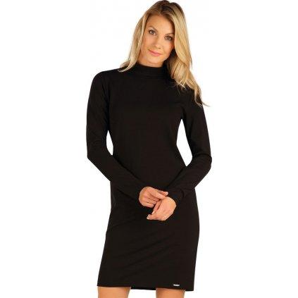 Dámské šaty LITEX s dlouhým rukávem černé
