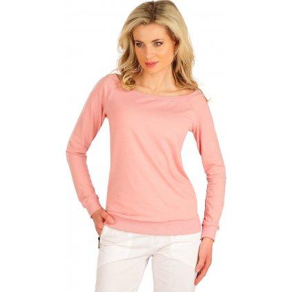 Dámské tričko LITEX s dlouhým rukávem růžové