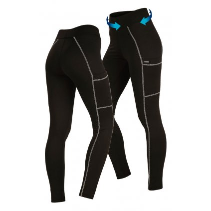 Dámské běžecké kalhoty LITEX černé