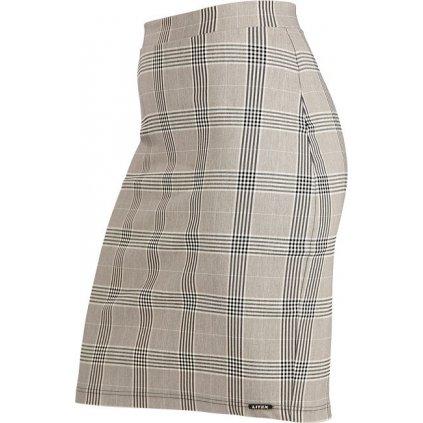 Dámská sukně LITEX do pasu šedá