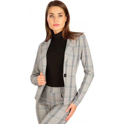 Dámské sako LITEX s dlouhým rukávem šedé