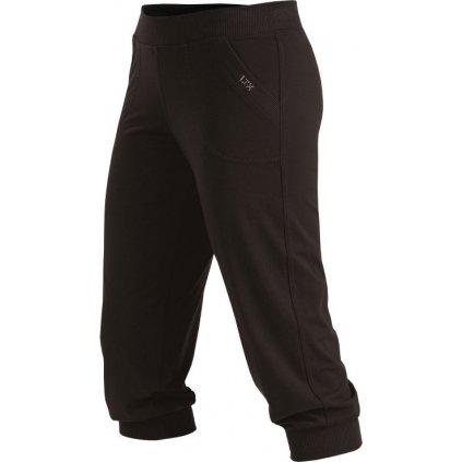 Dámské kalhoty LITEX v 3/4 délce černé