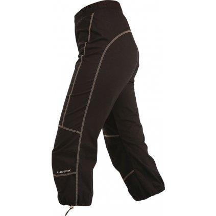 Dámské kalhoty do pasu LITEX v 7/8 délce černé